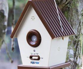 Bird House Bark Control
