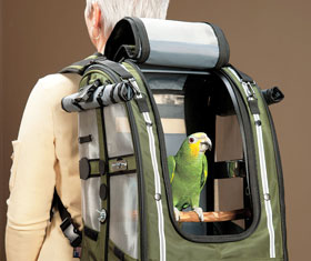 Bird Carrier Backpack